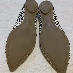 GAP Shoes - 🐮Cowgirl Up - Black & White Cowhide Loafers Sz 10